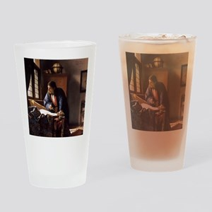 The Geographer Drinking Glass