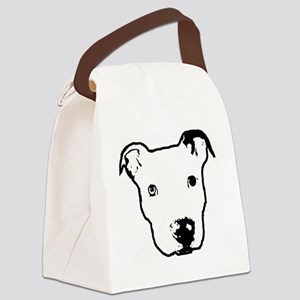 lenilogostamp-1 Canvas Lunch Bag