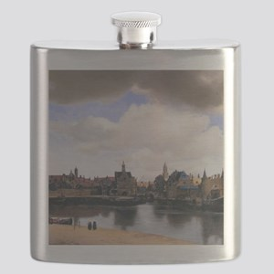 View of Delft Flask