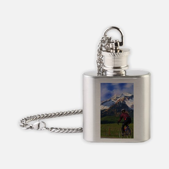 Cycling_the_Rockies_iPhone Flask Necklace