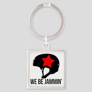 jammin copy Square Keychain