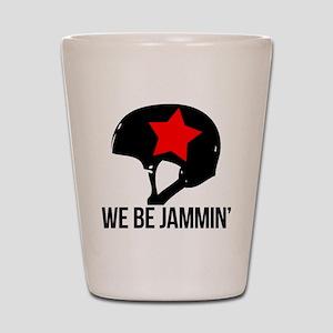 jammin copy Shot Glass