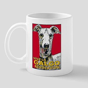 Viva La Galgo Revolucion Mug