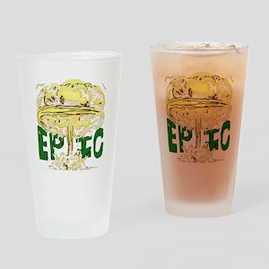 epicforblackshirt2 Drinking Glass