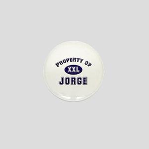 Property of jorge Mini Button
