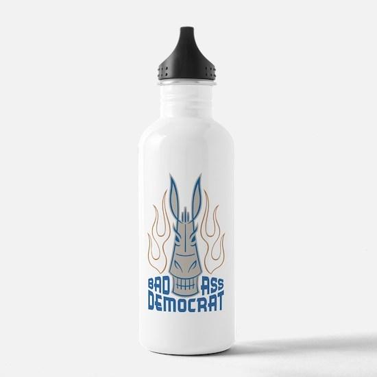BadAssDemocrat Water Bottle