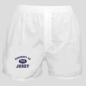 Property of jordy Boxer Shorts
