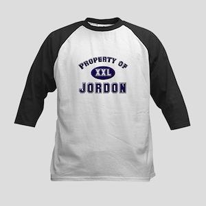 Property of jordon Kids Baseball Jersey