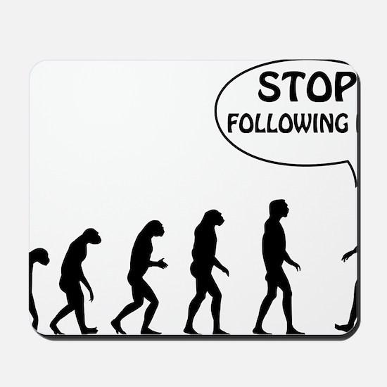 stop following Mousepad