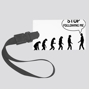 stop following Large Luggage Tag