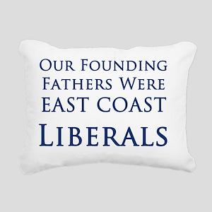 East Coast Liberals Rectangular Canvas Pillow