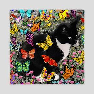 Freckles in Butterflies I Queen Duvet