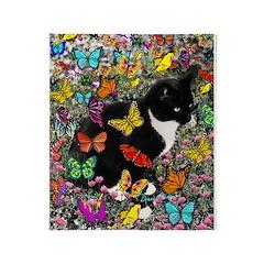 Freckles in Butterflies I Throw Blanket