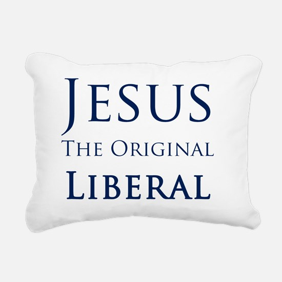 Jesus Rectangular Canvas Pillow