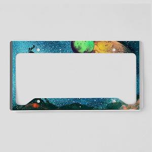 Driftwood Window License Plate Holder