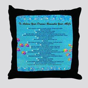 cp calendar 11.75 x 9.5 Throw Pillow