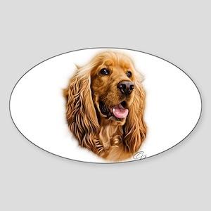 Cocker Spaniel GN Sticker