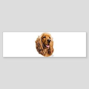 Cocker Spaniel GN Bumper Sticker