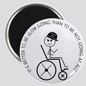 10slow_going_wheelchair1 Magnet