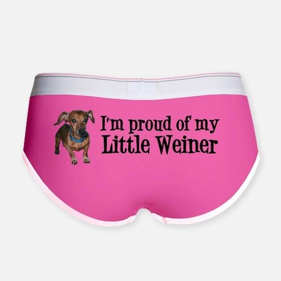 Proud Weiner Sticker Women's Boy Brief