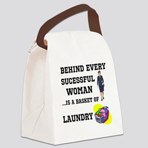 sucessful woman 2 Canvas Lunch Bag
