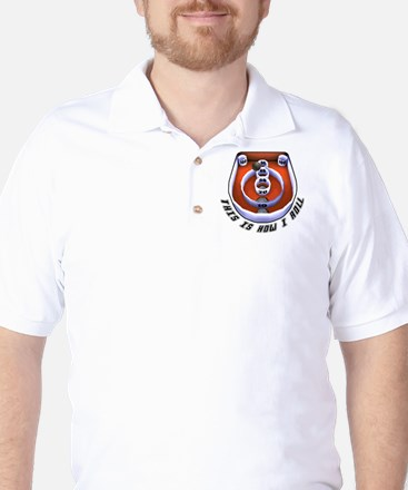 this is how I roll-1 Golf Shirt
