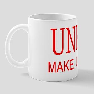 unions make us strong WI Mug