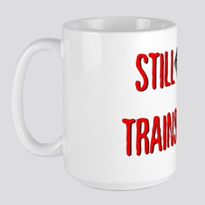 still-plays_dark Large Mug