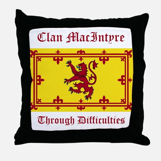 MacIntyre Throw Pillow