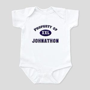 Property of johnathon Infant Bodysuit