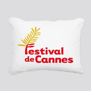 Festival Cannes Rectangular Canvas Pillow