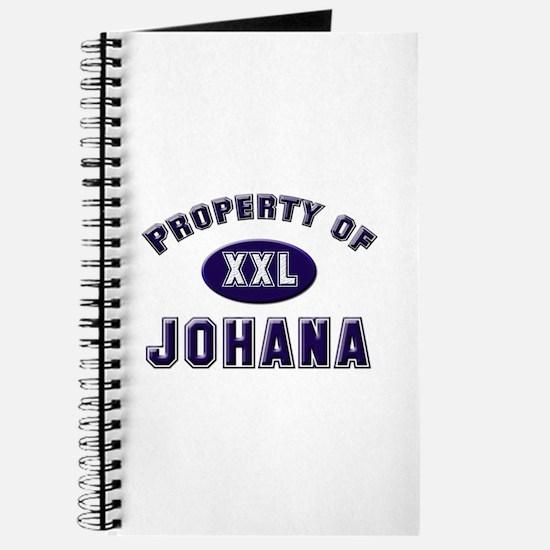 Property of johana Journal