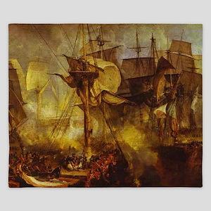 Battle of Trafalgar 1808 King Duvet