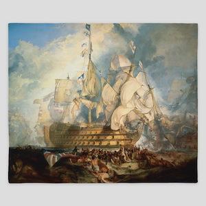 Battle of Trafalgar King Duvet