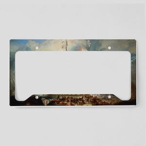 Battle of Trafalgar License Plate Holder