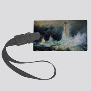Bell Rock Lighthouse Large Luggage Tag