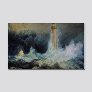Bell Rock Lighthouse Car Magnet 20 x 12