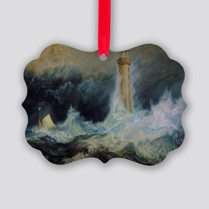 Bell Rock Lighthouse Picture Ornament
