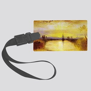 Chichester Canal Large Luggage Tag