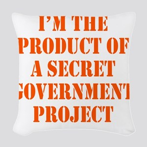 govt-project2 Woven Throw Pillow
