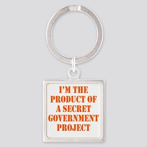 govt-project2 Square Keychain