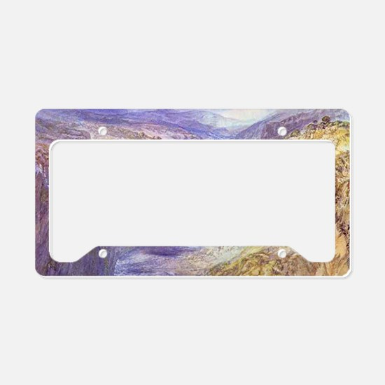 Fall of Tees License Plate Holder