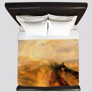 Rain, Steam, and Speed King Duvet