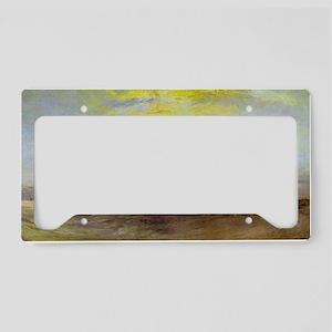 Ship Aground License Plate Holder