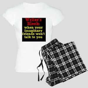 writers-block_rnd2 Women's Light Pajamas