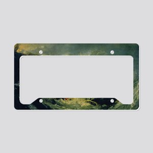 Shipwreck of the Minotaur License Plate Holder