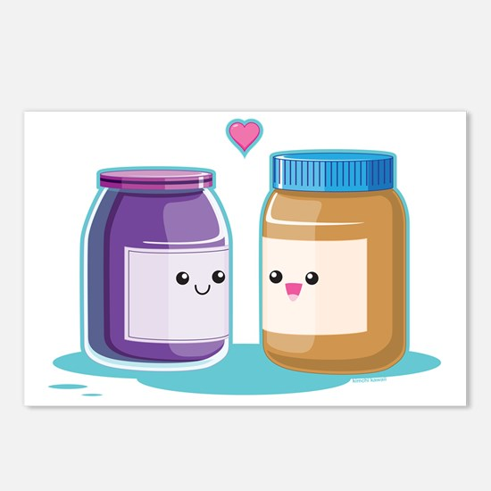 pb-and-j Postcards (Package of 8)