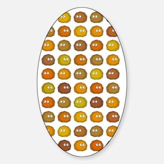 alotoftribbles5 Sticker (Oval)