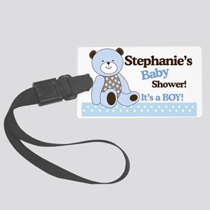 Sugar Cookie Teddy Bear Its a Bo Large Luggage Tag