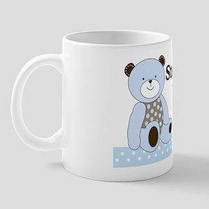Sugar Cookie Teddy Bear Its a Boy Yard  Mug
